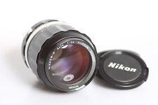 Nikon Nikkor - P Auto  105mm f/2.5   Non - Ai  MF Lens