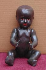 superbe ancienne poupon poupée noir celluloïd ? bon etat general