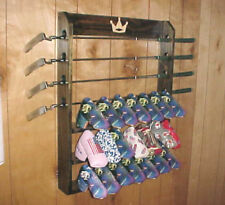 New Golf Club Display Rack Case for 4 Scotty Cameron Putters & 21 Head Covers