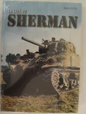 La Saga du Sherman by Michel Esteve (2018, Hardcover) FRENCH TEXT