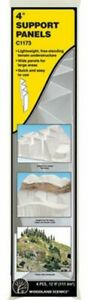 "Woodland Scenics ~ New 2021 ~ 4"" Support Panels ~ 4 Pieces ~ C1173"