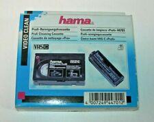 Cassette de limpieza VHS-C Profi 44701 Hama - nuevo precintado