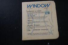 Rare Windows Vol1 No 1 May 1982 5.25 Media Apple II Plus