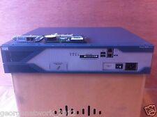 CISCO 2851 512D/1GB CCNA CCNP CCIE VOICE ADD ON LAB IOS 15.1 AIM-CUE VIC2-2FXO