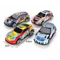 Cartoon Mini Alloy Car Toys Set Racing Vehicles Models Kid Playing Toy Random
