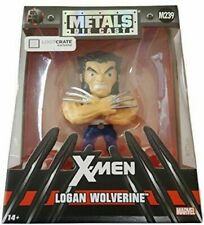 X-men Logan Wolverine Metals Die Cast M239 Full Metal Figure Loot Crate