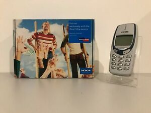 Rare NOKIA 3330Mobile Phone Lock To Virgin UK Very Good Condition Full Box