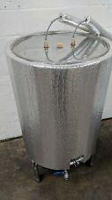 400L stainless steel fermenter with fully automatic temperature control system