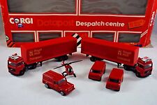 Corgi 3184 Special ROYAL MAIL DATAPOST Despatch Centre GIFT-SET Made in UK