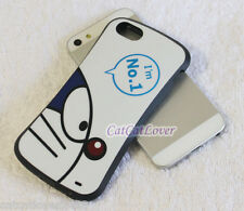 Cute glossy Doraemon cat No1 soft rubber extra bumper case cover iPhone 5/5s