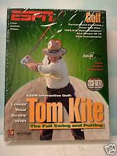 Tom Kite:The Full Swing and Putting (Mac) NEW. Factory Sealed.Big Box