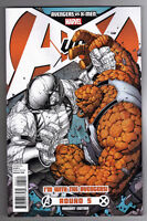 AVENGERS vs X-MEN #5 DALE KEOWN AVENGERS TEAM VARIANT COVER - 2012
