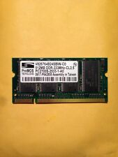 PROMOS PC2700S 512MB 333MHz DDR TESTED LAPTOP MEMORY 122A