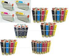 Lot de cartouches d'encre epson non-oem T0805 T0713 T1283 T1293 T1813 18XL