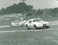 Vintage 8 X 10 1969 Sebring Austin Healey Sprite, Porsche 906, Lola Racing Photo