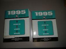 Manuale d'officina Buick Allodola Grand AM Achieva 1995