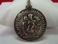 antik Münz Anhänger Viktoria Silber 925 Bas RAR