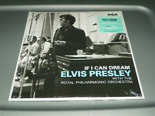 ELVIS PRESLEY-IF I CAN DREAM-WITH THE ROYAL PHILH 2 VINYL LP NEW SEALED