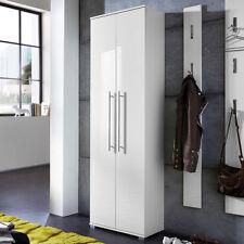 Dielenschrank Garderobenschrank Inside Schrank weiß Hochglanz Tiefzieh Germania