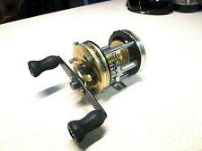 ABU GARCIA AMBASSADEUR FISHING REEL - GOLD USA 6000-C - CLEAN & WORKS GOOD