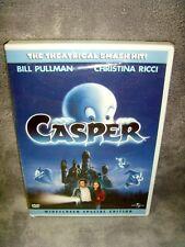 Casper (DVD, 2003, Widescreen) Brand New•Factory Sealed•USA•Christina Ricci•Rare