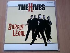 The Hives - Barely Legal - yellow colored Vinyl LP - US 2001 - Limited - RPM030