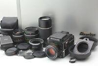 4 Lens【NEAR MINT】 MAMIYA M645 1000S , SEKOR C 80mm F2.8 , 55mm , 210mm JAPAN