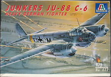 ITALERI 022 - JUNKERS JU 88 C-6 - Bomber - 1:72 Flugzeug Modellbausatz Kit