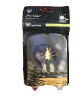 GE Pro Line  Light Clips 50 Pack Christmas NIP For professional Results