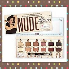 The Balm Nude Dude Palette Eyeshadow and Brush! ,  Authentics