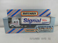 Matchbox International Ltd.CY16 Convoy 1983 Scania Box Truck SIGNAL FLUORIDE