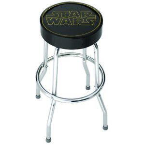 Star Wars Logo Garage and Bar Stool