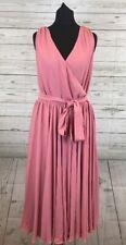 ASOS Bridesmaid Wedding Bow Front Midi Dress Size 10 BNWT RRP £55 Vintage Rose