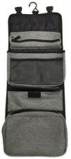 Toiletry Travel Hanging Bag All In One Traveling Cosmetic Organizer Toiletries