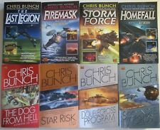 Chris Bunch Sci Fi 8 Book Lot Last Legion Star Risk Ltd