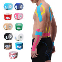 Kinesiology Tape Sports Bandage Athletic Muscle Strain Support Injury Recovery