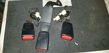 MERCEDES C CLASS W 204 / 2007   SET OF REAR SEAT BELT STALKS