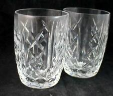 Waterford GLENGARRIFF 2 10 ounce Tumblers GREAT CONDITION