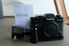 EUC Fujifilm X-T20 24.3MP Mirrorless Digital Camera - EX low shutter count