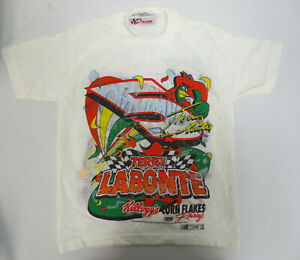 TERRY LABONTE NASCAR TODDLER XS 2-4 VINTAGE SHIRT 4 SIDED CHASE RUSTY WALLACE