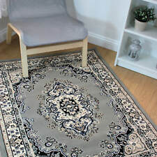 Flair Rugs Element Lancaster Traditional Rug Grey 220x320cm (7x10')