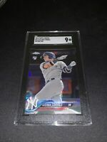 2018 Topps Chrome Gleyber Torres REFRACTOR ROOKIE RC #31 SGC 9