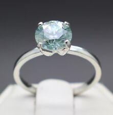 1.59cts 7.70mm Fancy Light Blue Diamond Size 7 Ring VVS1 & $995 Retail Value.