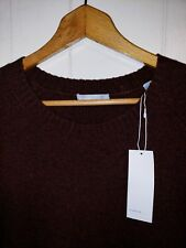 Vince Cashmere Wool Sweater Pullover Mens 2XL NWT $365.00 Burgundy