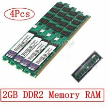 8GB(4x2GB) DDR2 PC2-6400 DDR2-800 MHZ MEMORY DIMM PC DESKTOP RAM AMD 240 PIN NEW
