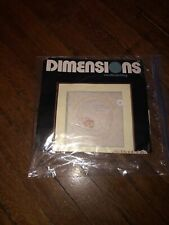 Dimensions Stamped Candlewicking Embroidery Kit Special Journey Baby Birth New
