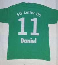 Sport Shirt T-Shirt grün SG Letter 05 Druck 11 Daniel Gr. 152 TOP