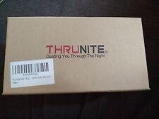 ThruNite mini tn30 LED Flashlight  Black used discontinued