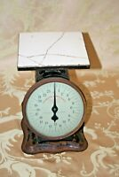 """Antique """"Prudential Family Scale"""" 24-lb. Grocery Store Type Scale - Patent 1912"""