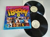 "Boom 8 ! Obk ROXETTE QUEEN JOAQUIN SABINA 1992 - 2 X LP 12 "" vinyl VG/VG - 2T"